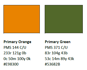 Primary Logo Color Swatches And Details