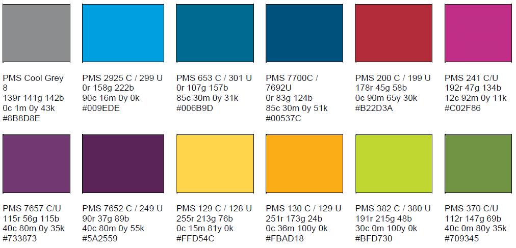 Secondary Color Palette
