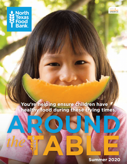 Around The Table Summer 2020 Newsletter Front Page