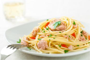 One Pot Pasta With Tuna