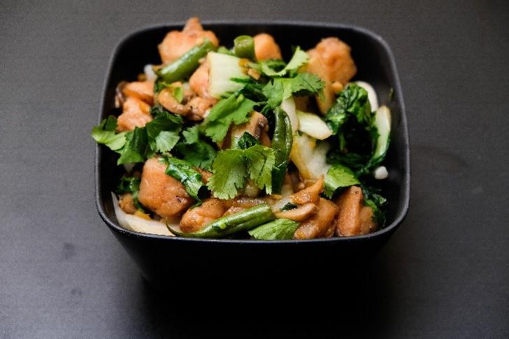 Chicken Stir Fry Bok Choy