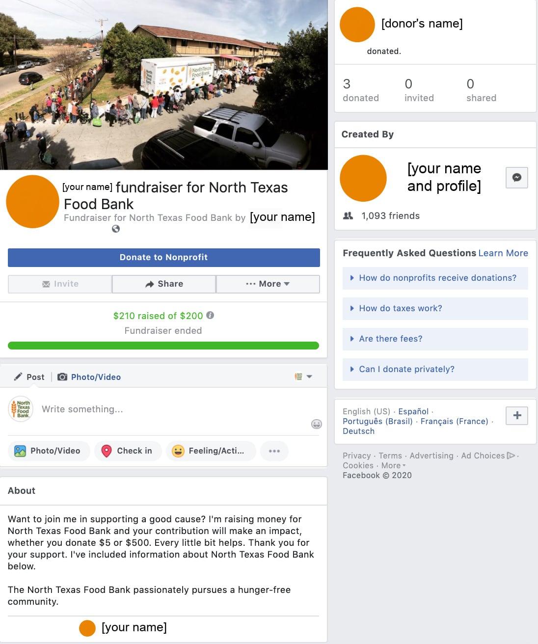 FB Fundraiser SS