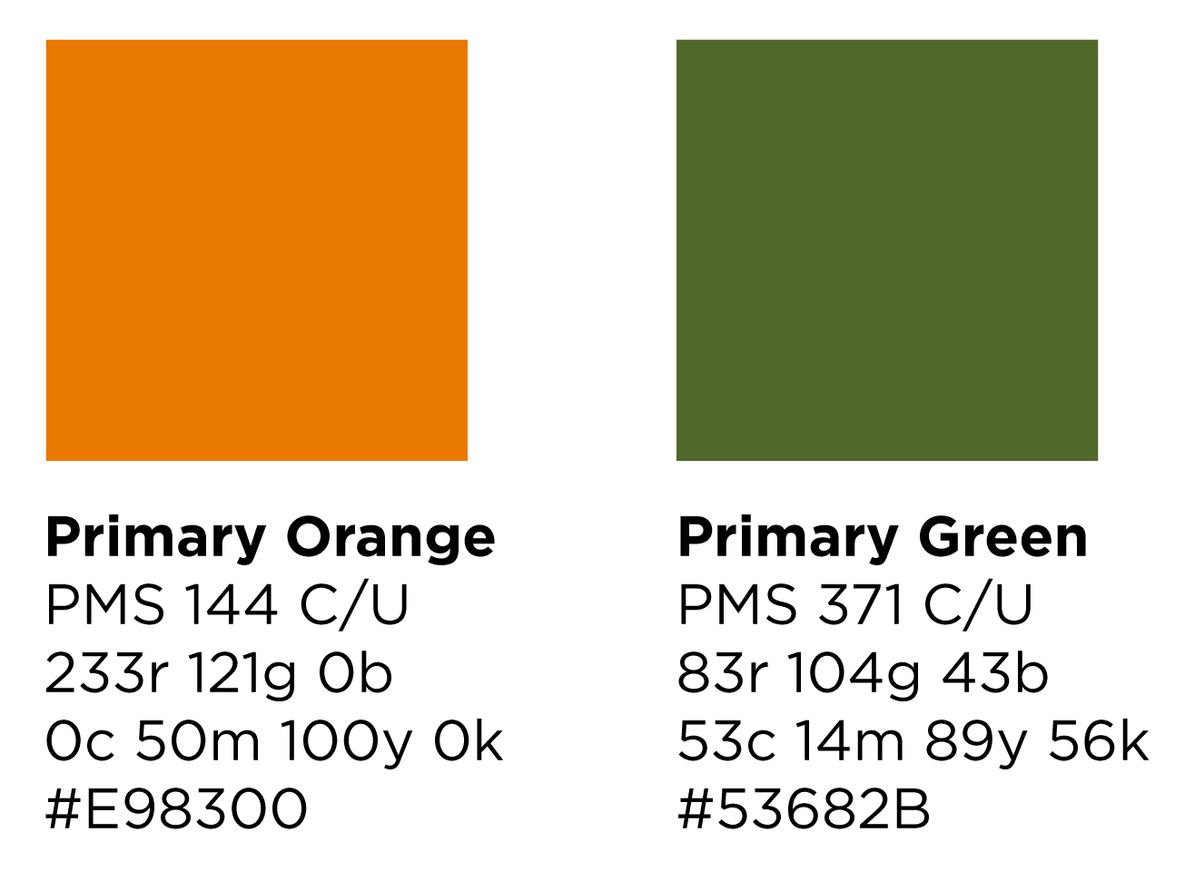 Brand Elements Primary Colors