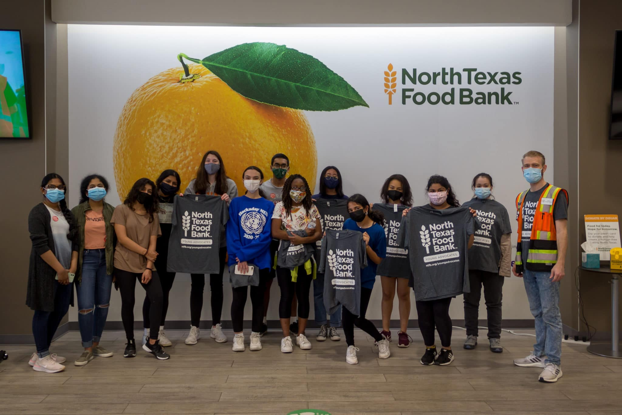 North Texas Food Bank Young Advocates Council 2021