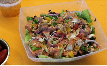 Fruited Spring Salad With Chicken