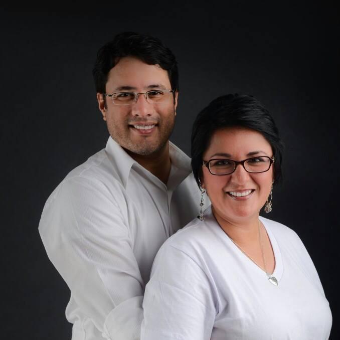 Rev. Sigrid Blandon and Alejandro Morales from Renovacion Iglesia Del Nazareno