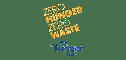 Zero Hunger Zero Waste Kroger Logo