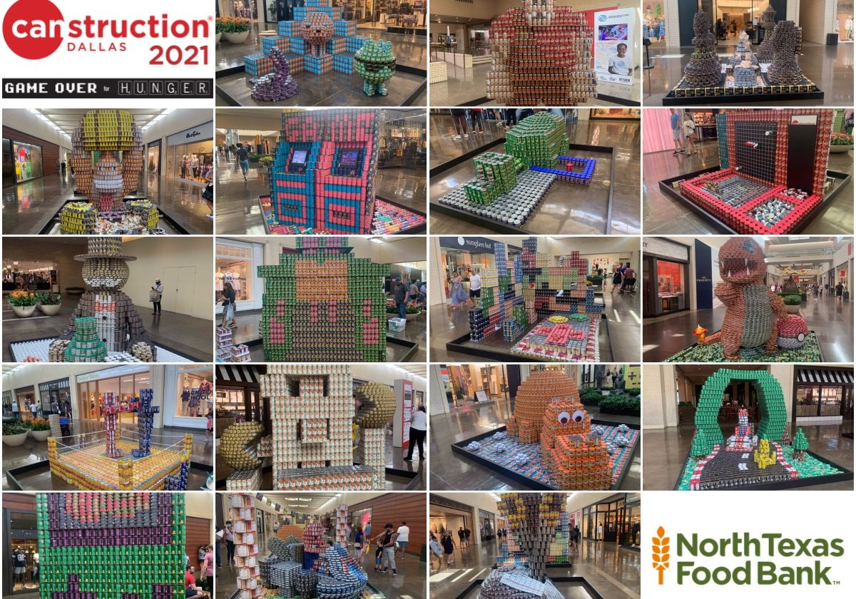 Canstruction Collage 2021