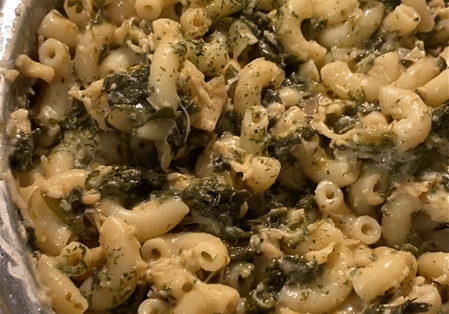 Creamy Mushroom Chicken And Spinach Pasta